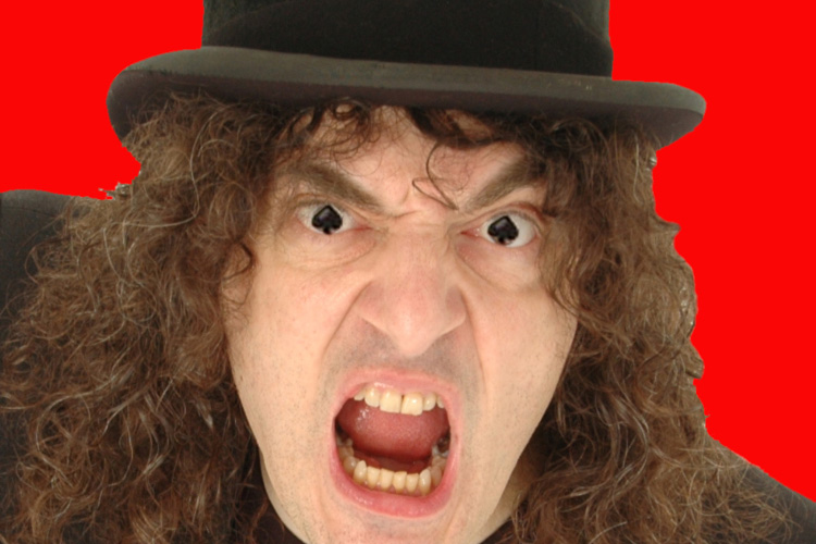 SOLD OUT – Jerry Sadowitz: Make Comedy GRATE Again!