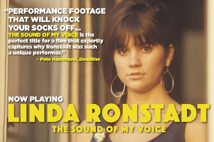 SOLD OUT – Linda Ronstadt – The Sound of my Voice (Irish Premiere)