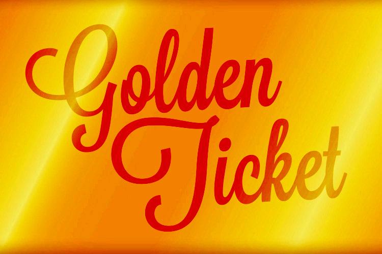 CQAF 2020 Golden Ticket!