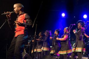 The London African Gospel Choir perform Graceland